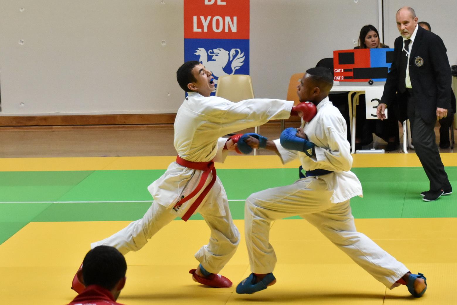 Coupe de la ZID du Lyonnais combats - novembre 2019