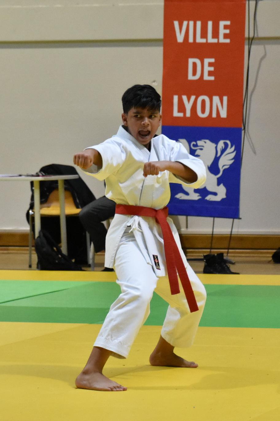 Championnat départemental kata - octobre 2019