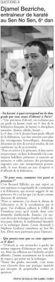 Expressions Venissieux 6e dan Djamel