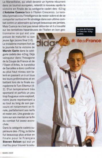 Championnat d'Europe cadets