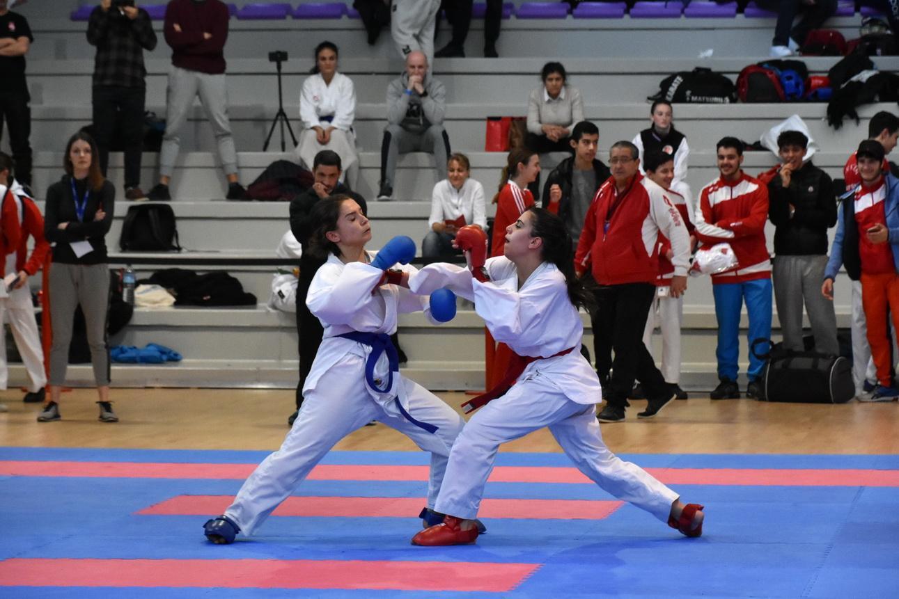 Championnat régional AURA combats karaté - mars 2020