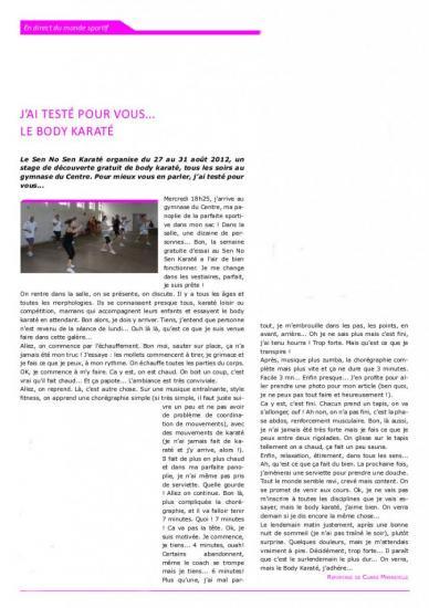 Article de la Gazette OMS - Sept 2012.jpg