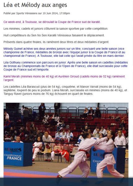 Sports venissians 10062014